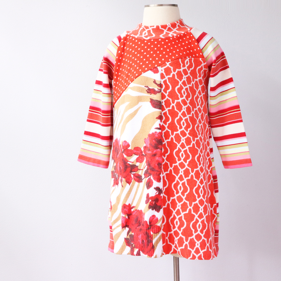 form 2T orange:dots:floral:stripes:pink:sweater.jpg