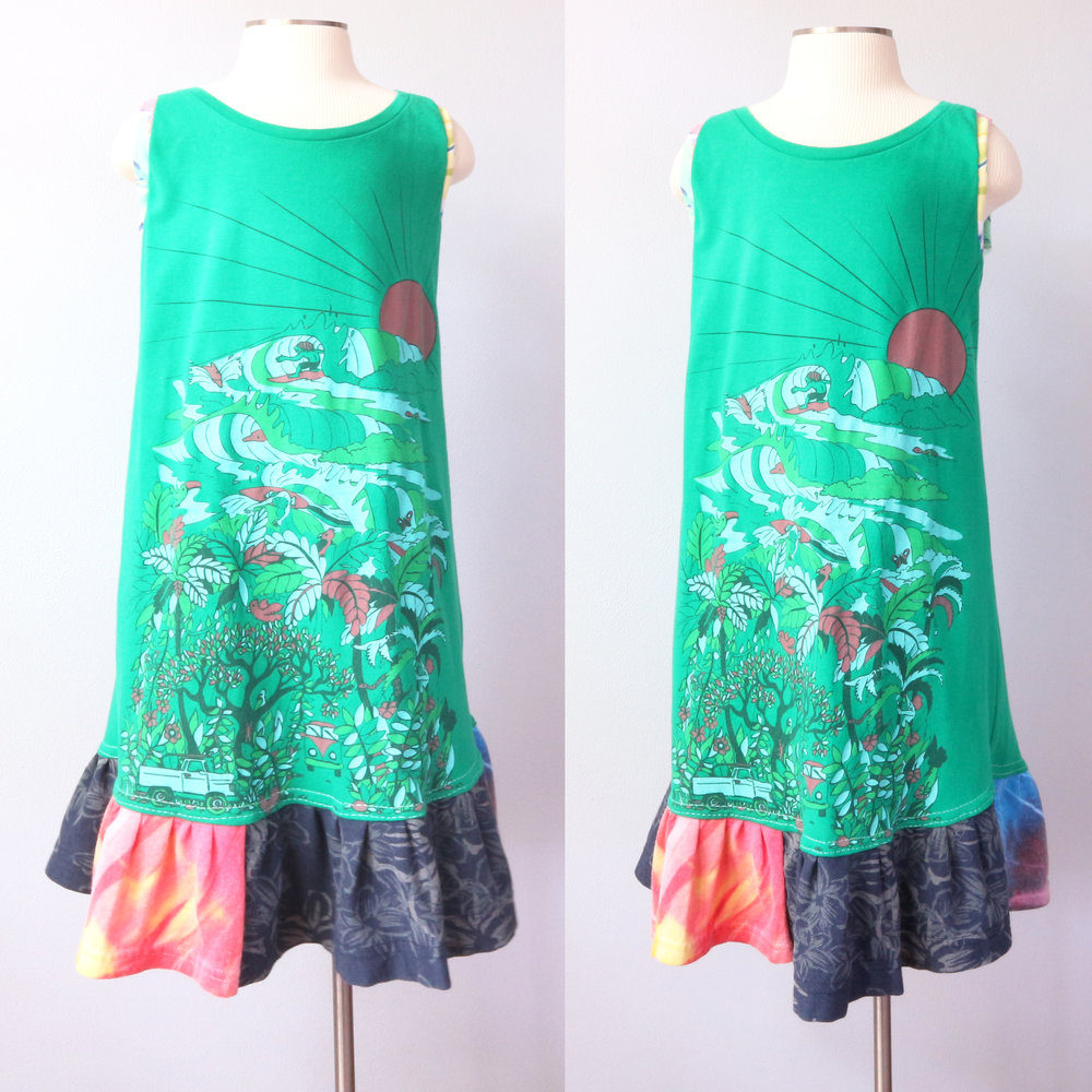 2 form ⅚ surfers:paradise:green:gather:tank:dress.jpg