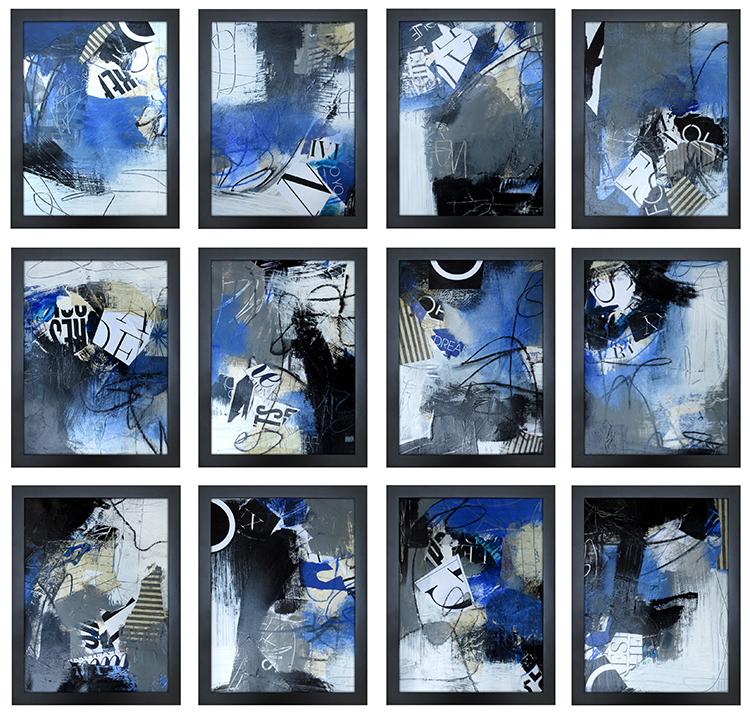 Graffiti in Blue Series 1-12