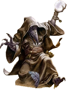 A typical kenku, courtesy of Wizards of the Coast