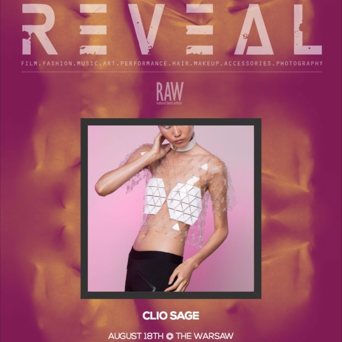 Raw Brooklyn : REVEAL    Runway Show   August 2016