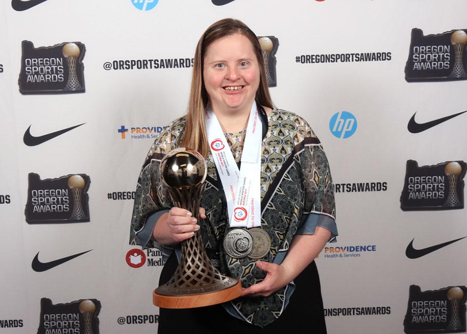 Mandi Durfee Special Olympics Athlete