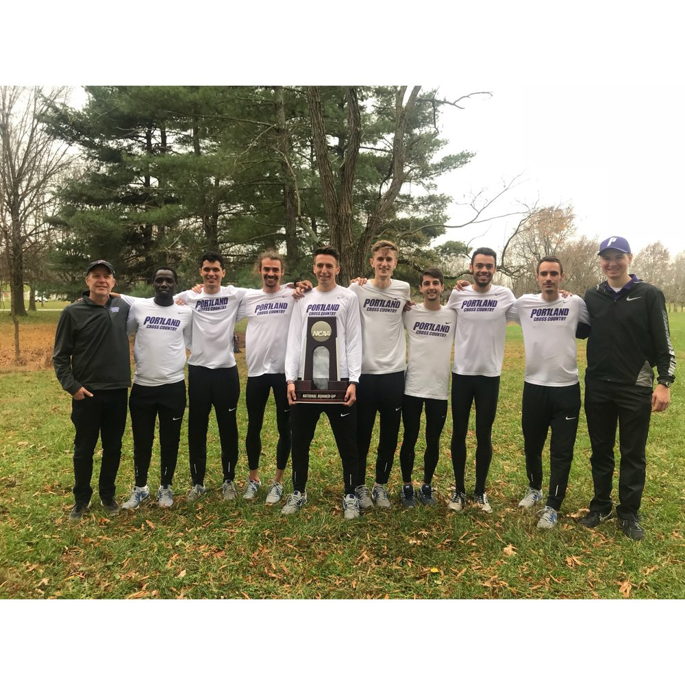 uNIVERSITY OF pORTLAND mEN'S cROSS cOUNTRY