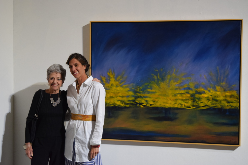 Speaking of women who DO live and breath elegance: here I am honored to stand beside Judith Kays, a fabulous art educator and critic who has been working in the Bay Area for over 50 years.  She wrote the in depth analysis of my work for the catalog.