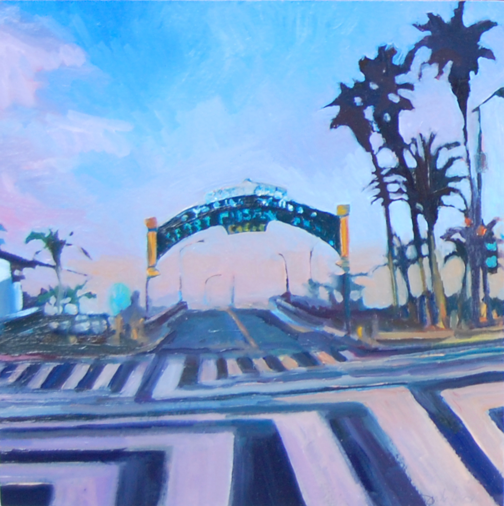 Santa Monica Pier Intersection