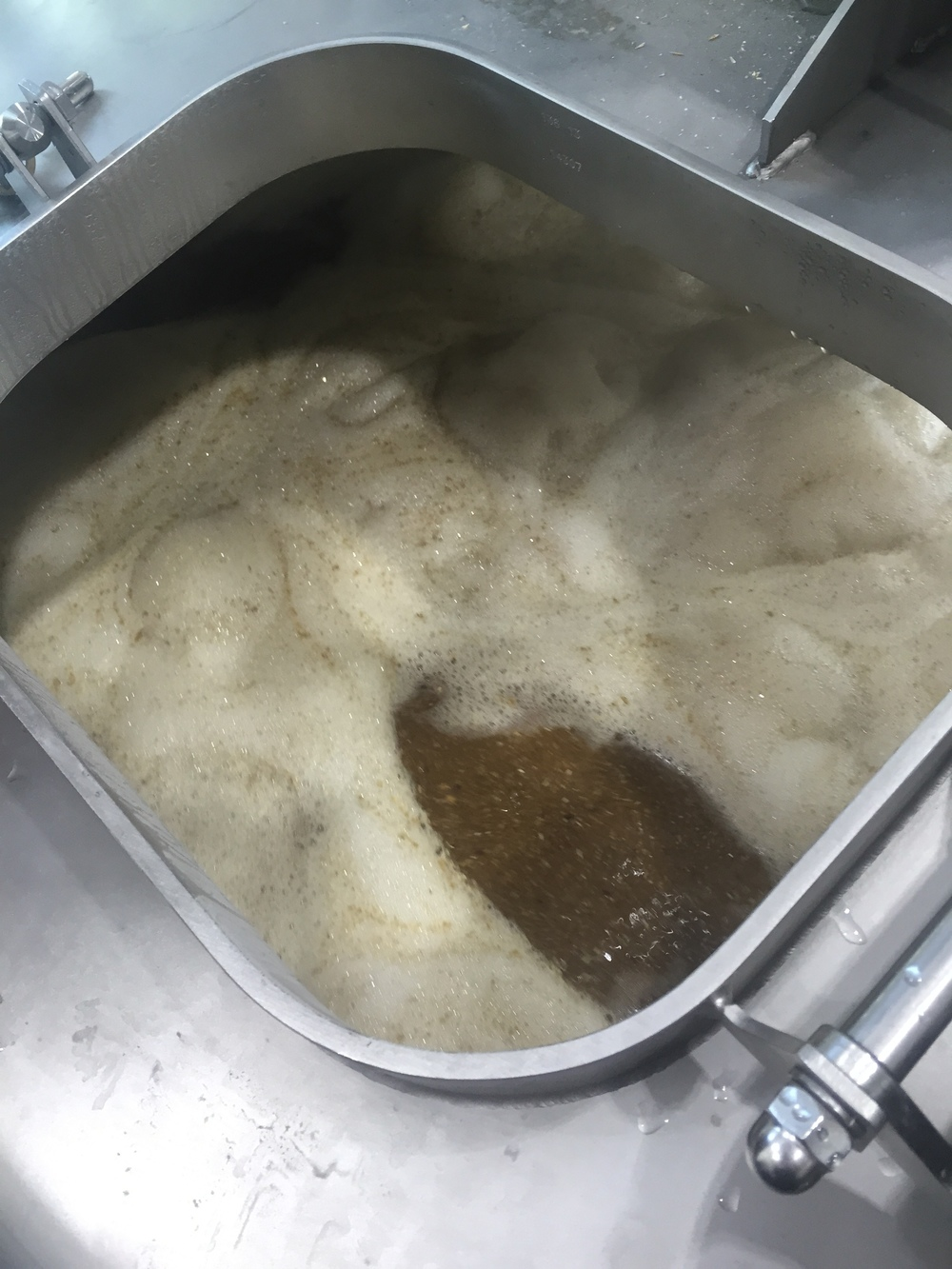 The beginnings of our 1747 ale.