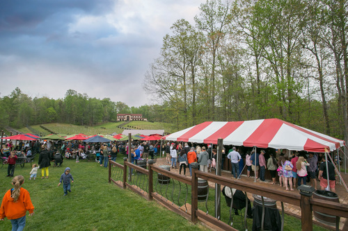 We have two locations that you can visit - our farm and beer garden in Prince Frederick, MD and our taproom and production brewery in Upper Marlboro, MD.