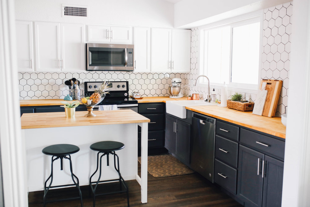 Brielle Rouge Kitchen Remodel