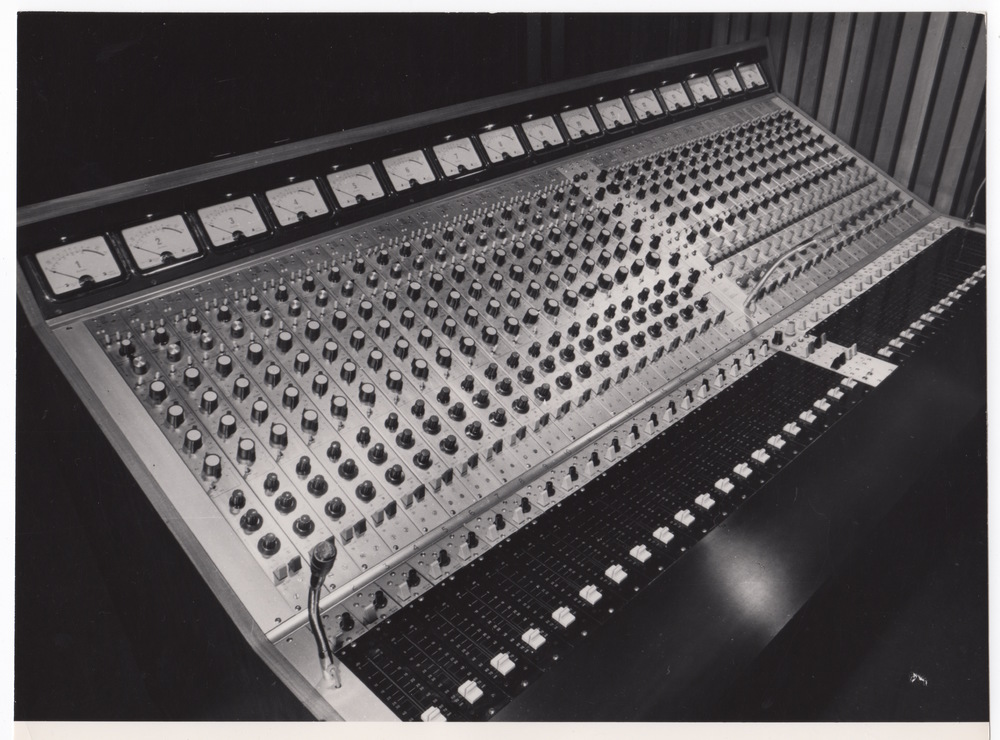 Trident Studio, London, Studio A,16-track
