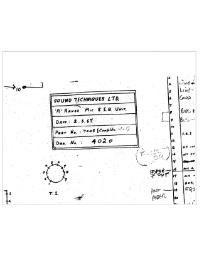 Sound Techniques A-Range Schematic 1967