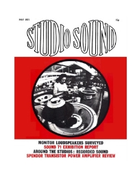 Studio Sound May 1971