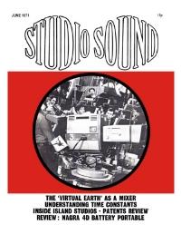 Studio Sound June 1971