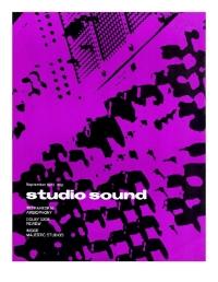 Studio Sound September 1971