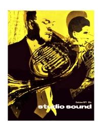 Studio Sound October 1971
