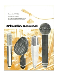 Studio Sound December 1971