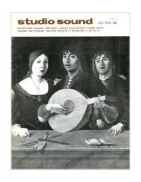 Studio Sound April 1972