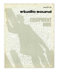 Studio Sound June 1972
