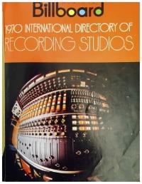 Billboard 1970 International Dirctory of Recording Studios