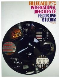 Billboard International Directory of Recording Studios, 1972