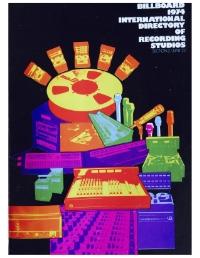 Billboard International Directory of Recording Studios, 1974