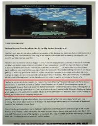 Elektra Studio, Mix Magazine excerpt October 2014