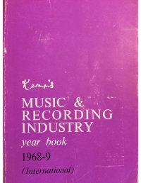 Kemps Music and Recording Industry 1968_69
