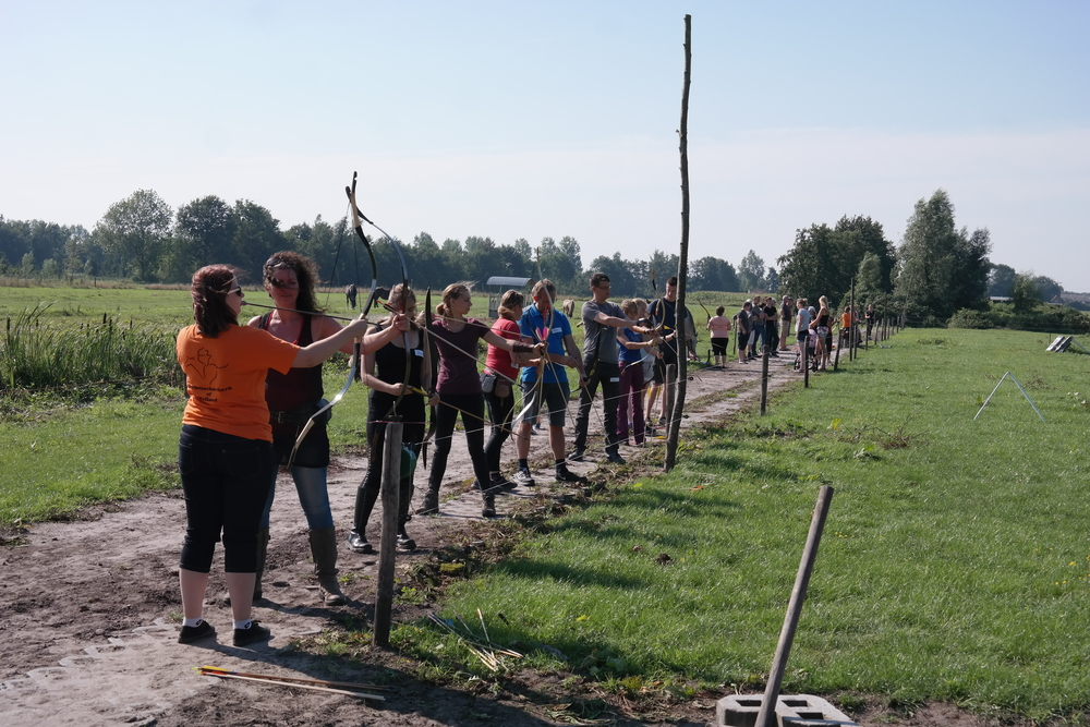 Een drukke trainingsdag in Kaatsheuvel.