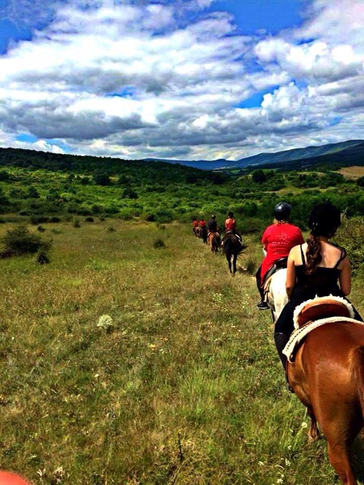 Een buitenrit te paard door Hongarije is ook mogelijk