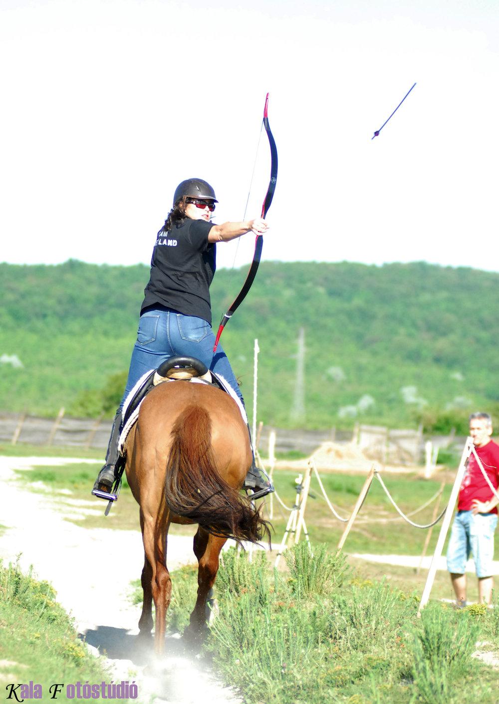 Boogschieten te paard België
