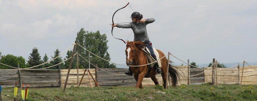 Boogschieten te paard in Gelderland, Zeeland en België