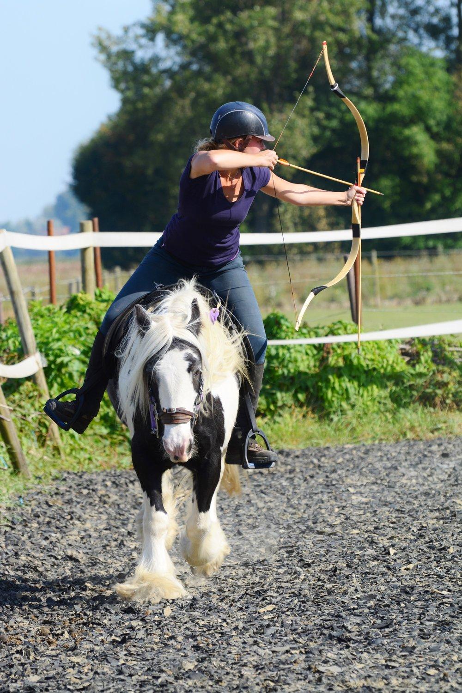 Boogschieten te paard Zeeland