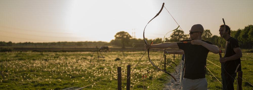 Boogschieten te paard Noord-Brabant