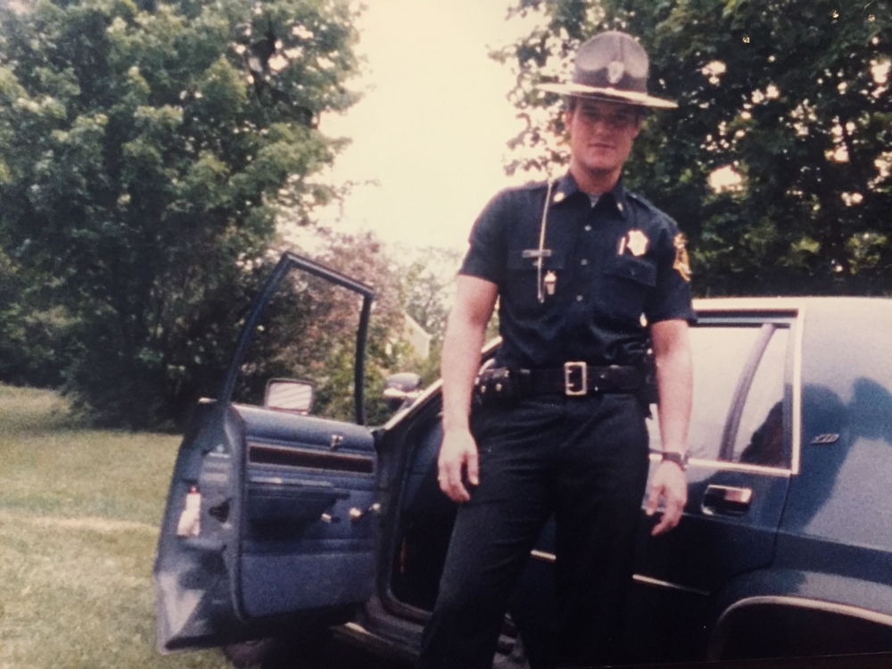 Officer Mike Moore with the Massachusetts Environmental Police.