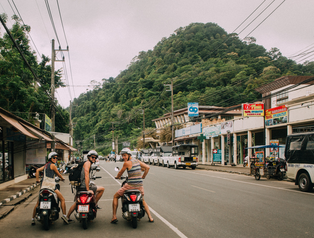Biking around Koh Chang, Thailand