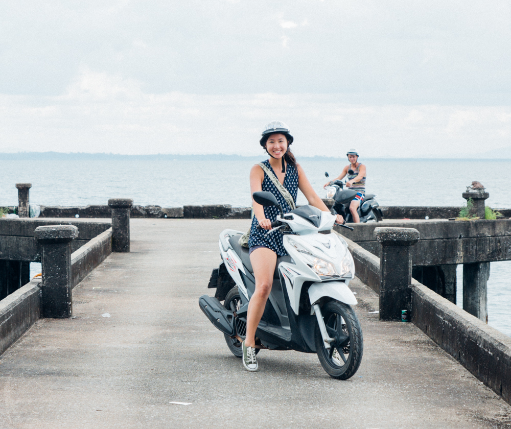 Exploring Koh Chang, Thailand by motorcycle