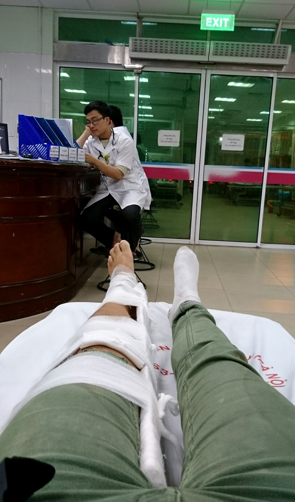 E.R. in Hanoi, Vietnam. One of the worst days of 2016