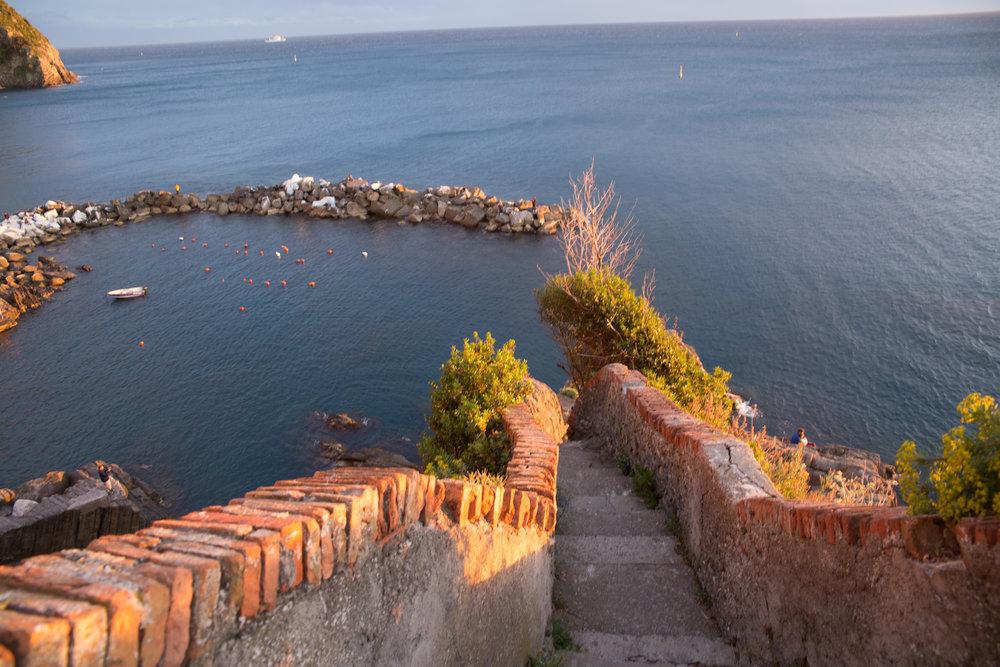 Golden hour, Riomaggiore