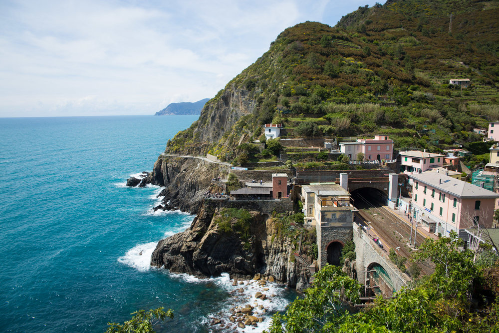 Train station, Riomaggiore