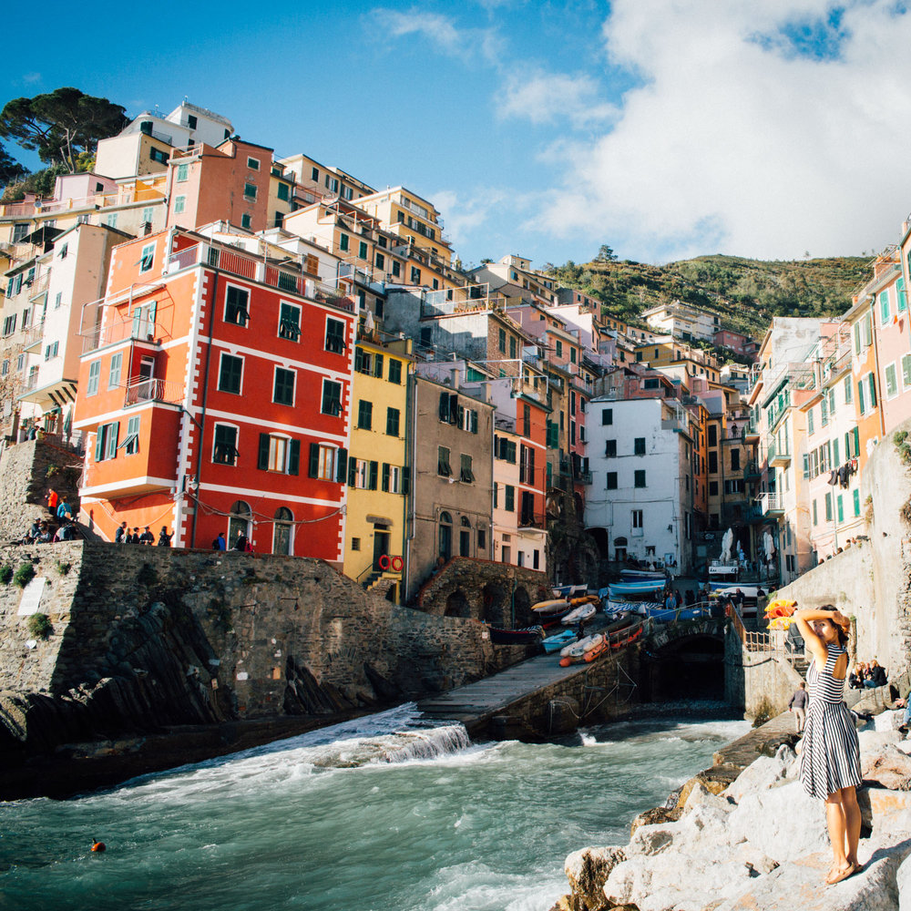 I spent a month this summer living in Riomaggiore, a small village of 2000 people on the Ligurian coast of Italy.