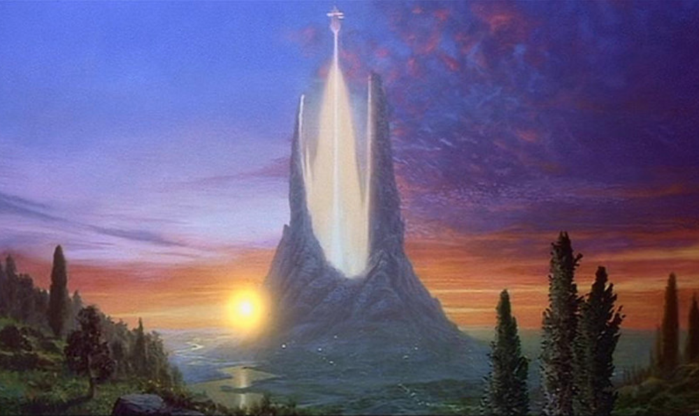 The ivory tower of academia looks suspiciously like the one from The Neverending Story