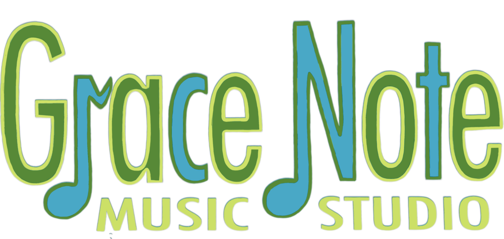 Grace Note Music Studio Logo
