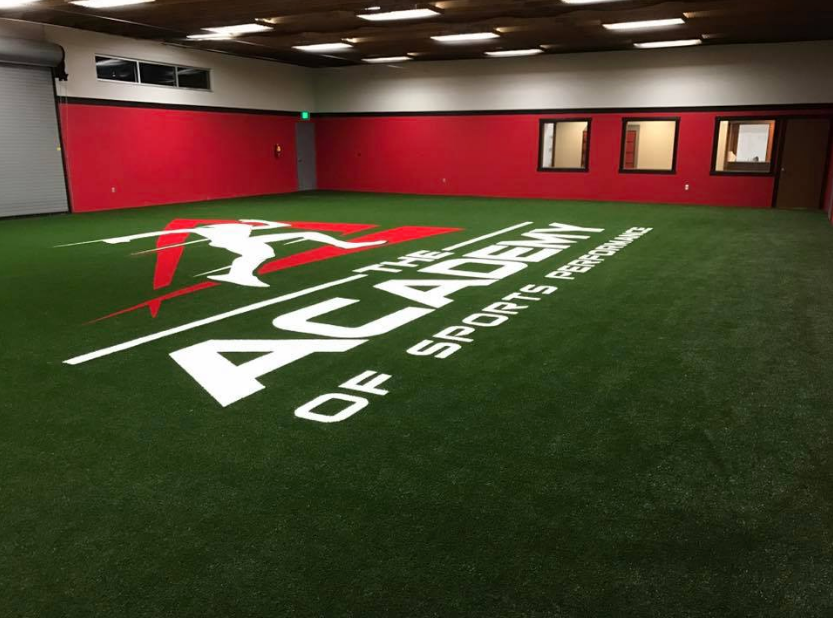 The Academy of Sports performance - 3,800 sq ft. of turf