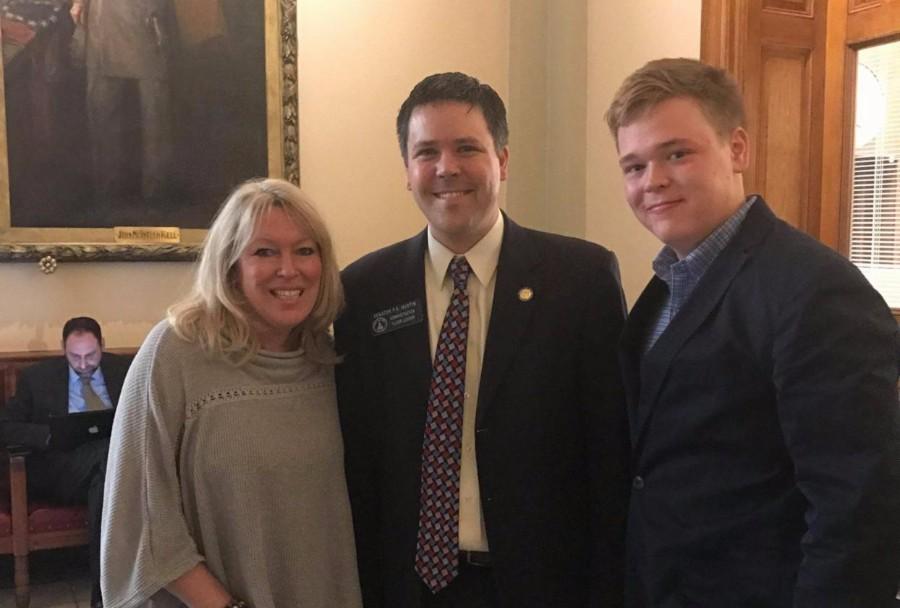 Tanya and Jack with Senator Martin