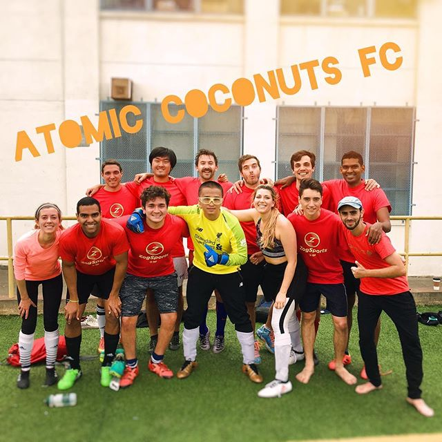 First game of the season was SO FUN! #AtomicCoconuts #soccerteam #soccergang #zogsports #zogsportssf