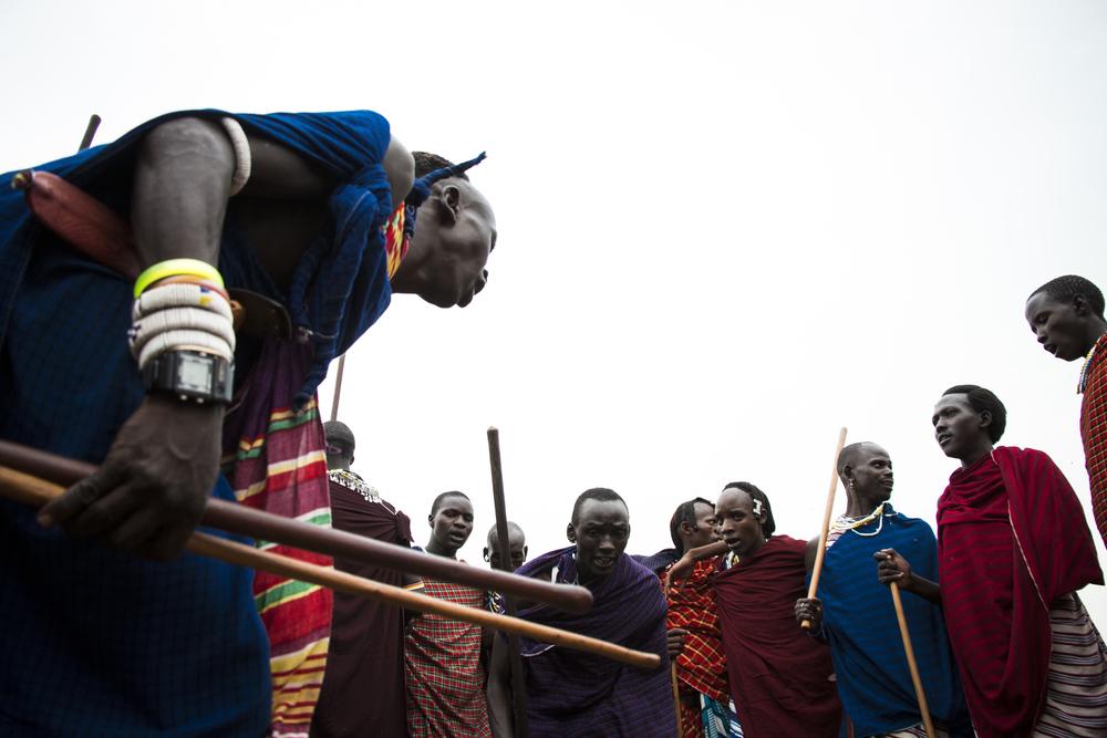 Maasai Warriors at Wedding 9 Color .jpg