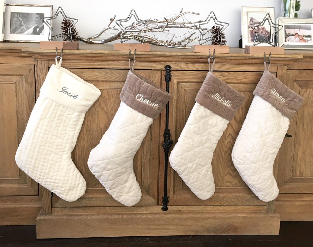 Personalized stockings for the whole family