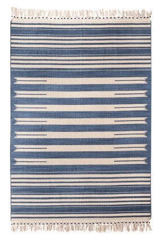 Mudhut Flatweave Striped Area Rug