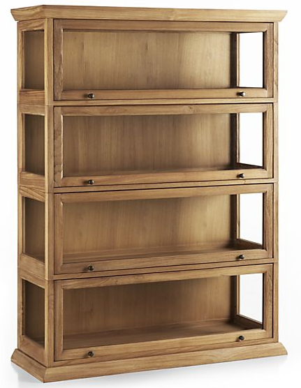 Atticus Barrister Bookcase from Crate and Barrel