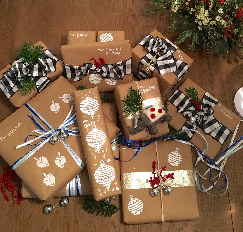 holiday gift wrap diy girl on the hudson