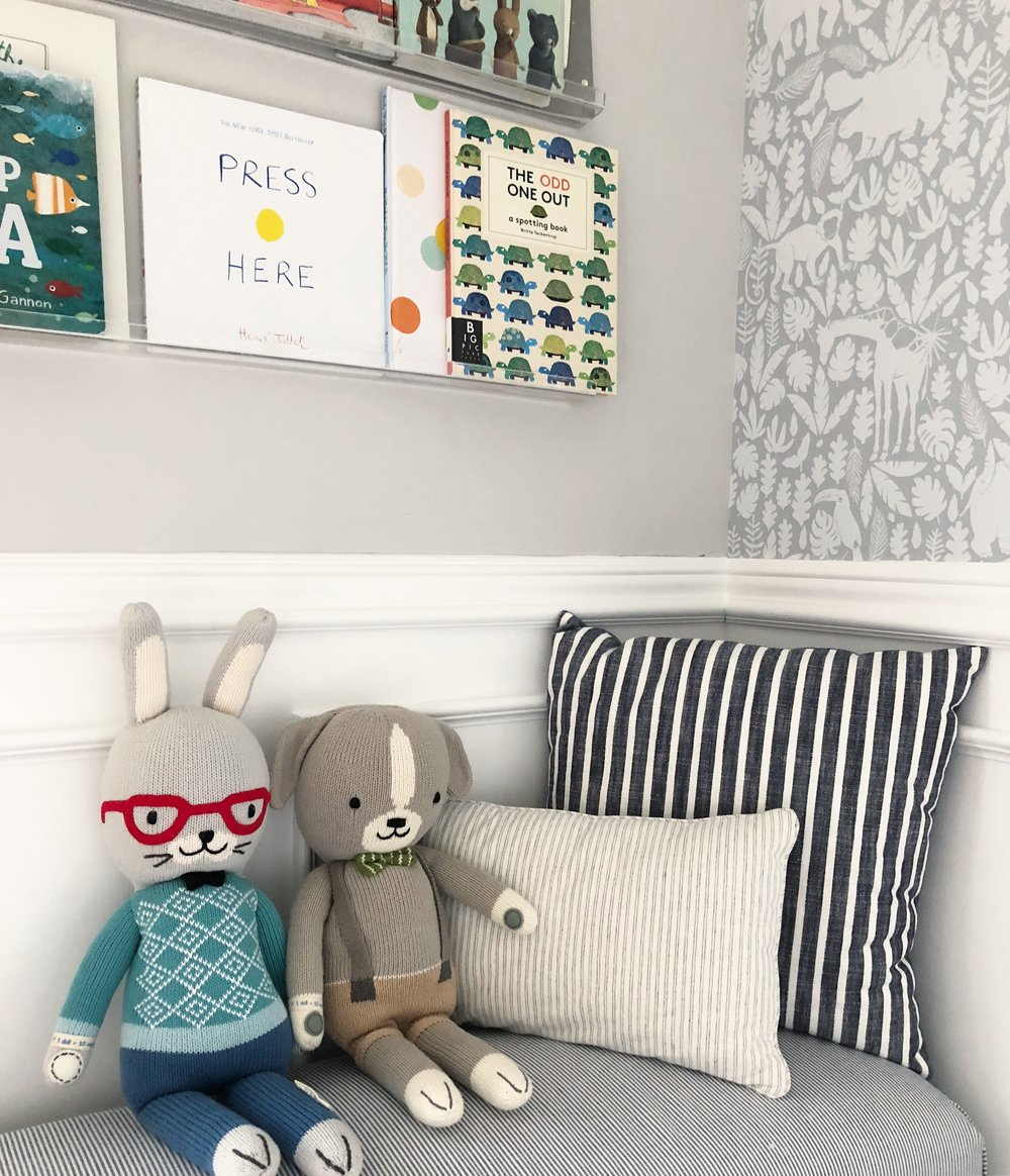As you can see, removable wallpaper is a super easy, totally doable DIY that will absolutely transform any space. You don't need any special tools (I used a ...